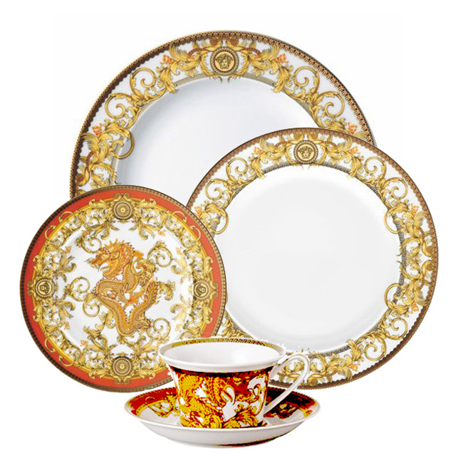 Versace Asian Dream  sc 1 st  Upscale Gallery & Versace Medusa Dinnerware China Set | Upscale Gallery