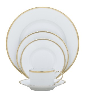 Raynaud Fontainebleau Gold with Filet Tea Cup Extra