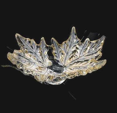 Lalique Champs-Elysees Bowl in Gold Lustre