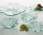 Annieglass Water Lily Large Platter 16.5""