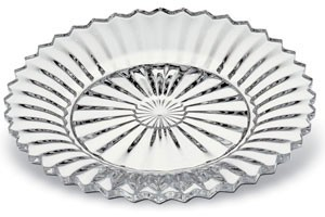 Baccarat Mille Nuits Plate, Clear, Large